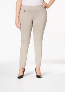 Alfani Plus Size Modern Skinny Pull-On Pants, Created for Macy's