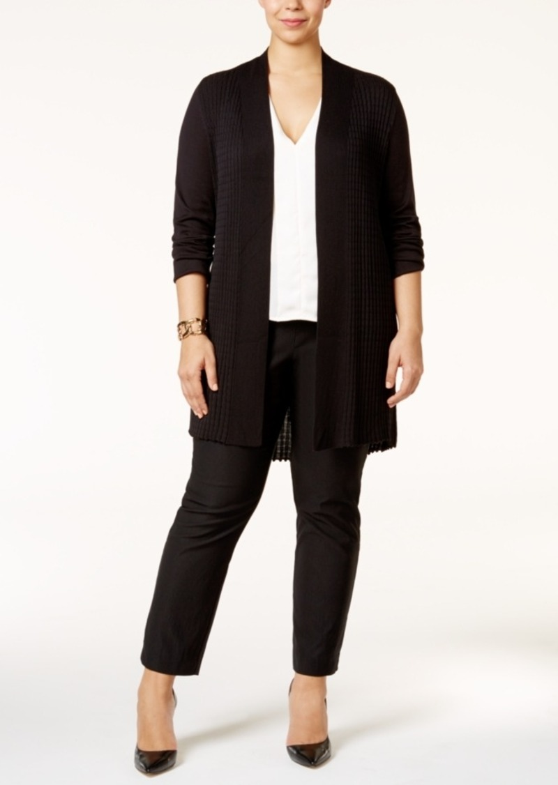 d02974dd02a Alfani Alfani Plus Size Open-Front Textured Cardigan
