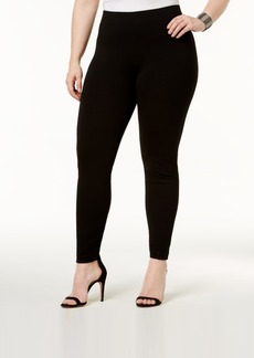 Alfani Plus Size Ponte-Knit Leggings, Created for Macy's