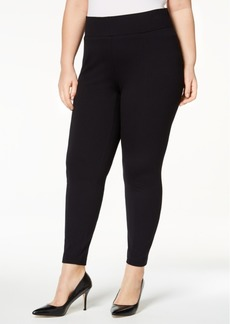 Alfani Plus Size Ponte-Knit Leggings, Created for Macy's