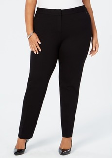 Alfani Plus Size Ponte-Knit Pants, Created for Macy's
