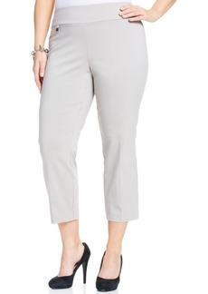 Alfani Plus Size Pull-On Capri Pants, Only at Macy's
