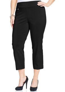 Alfani Plus Size Pull-On Capri Pants, Only at Macy's