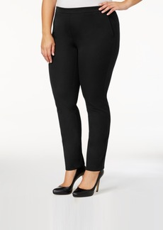 Alfani Plus Size Pull-On Skinny Pants, Created for Macy's