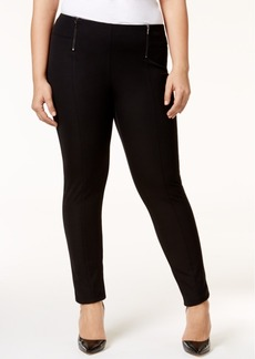 Alfani Plus Size Pull-On Skinny Pants, Only at Macy's