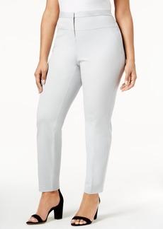 Alfani Plus Size Seamed-Waist Skinny Pants, Only at Macy's