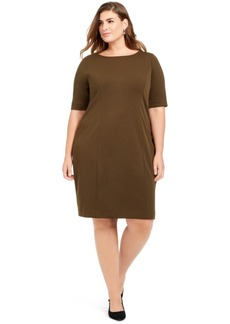 Alfani Plus Size Sheath Dress, Created For Macy's