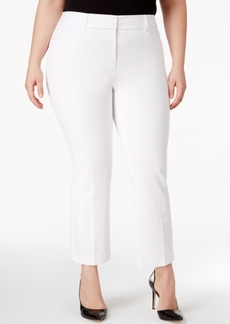 Alfani Plus Size Skinny Cropped Pants, Only at Macy's