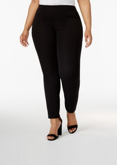 Alfani Plus Size Skinny-Leg Knit Pants, Created for Macy's