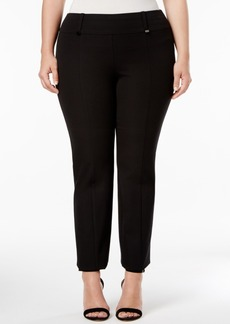 Alfani Plus Size Skinny Pull-On Pants, Created for Macy's