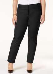 Alfani Petite Plus Size Slim Pants, Created for Macy's
