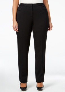 Alfani Plus Size Straight-Leg Pants, Only at Macy's