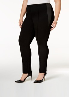 Alfani Plus Size Tummy-Control Skinny Pants, Only at Macy's