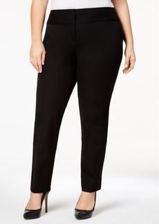 Alfani Plus Size Tummy-Control Slim-Leg, Created for Macy's