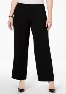Alfani Plus Size Wide-Leg Pants, Only at Macy's