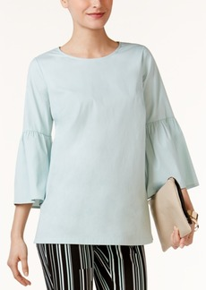 Alfani Poet-Sleeve Top, Only at Macy's
