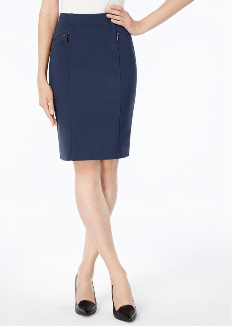alfani alfani ponte pencil skirt created for macy s