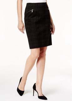 Alfani Ponte Pencil Skirt, Created for Macy's