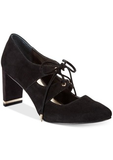 Alfani Prima Bindii Lace-Up Pumps, Only at Macy's Women's Shoes