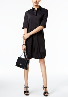 Alfani Prima Bungee-Hem Shirtdress, Only at Macy's
