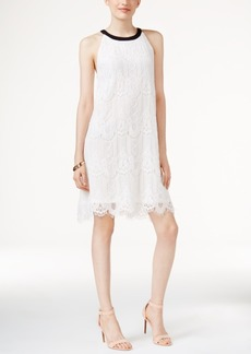 Alfani Prima Cleo Lace Shift Dress, Created for Macy's