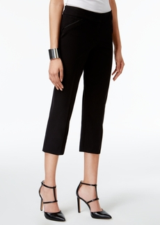 Alfani Prima Cropped Straight-Leg Pants, Only at Macy's
