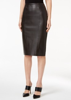 Alfani Prima Faux-Leather Pencil Skirt, Only at Macy's