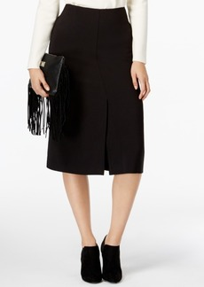 Alfani Prima Front-Slit A-line Skirt, Only at Macy's