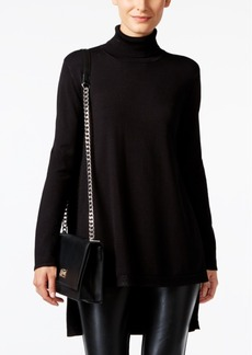 Alfani Prima High-Low Turtleneck Sweater, Only at Macy's