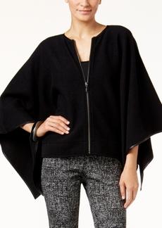 Alfani Prima Merino Wool Cape, Only at Macy's