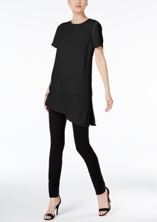 Alfani Prima Piped Asymmetrical Top, Only at Macy's