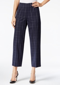 Alfani Prima Plaid Culottes, Only at Macy's