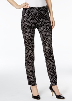 Alfani Prima Printed Studded Skinny Pants, Only at Macy's