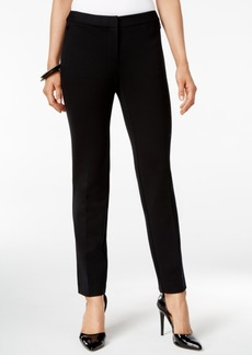 Alfani Prima Straight-Leg Trousers, Only at Macy's