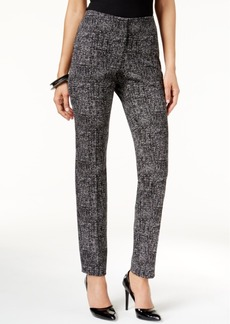 Alfani Prima Tweed Skinny Trousers, Only at Macy's