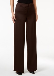 Alfani Prima Wide-Leg Satin Pants, Only at Macy's