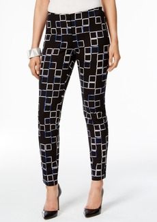 Alfani Printed Ankle Pants, Only at Macy's