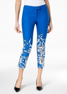 Alfani Printed Ankle Skinny Pants, Created for Macy's