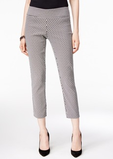 Alfani Printed Capri Pants, Only at Macy's