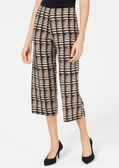Alfani Printed Culotte Pants, Created for Macy's