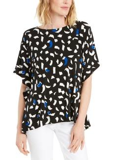 Alfani Printed Dolman-Sleeve Top, Created for Macy's