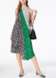 Alfani Asymmetrical-Hem Swing Dress, Created for Macy's