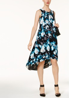 Alfani Printed High-Low Dress, Created for Macy's