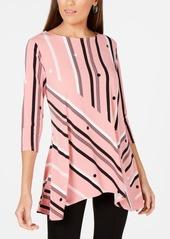 Alfani Printed High-Low Tunic, Created for Macy's