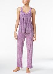Alfani Printed Knit Tank Top and Pants Pajama Set, Only at Macy's