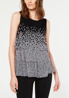 Alfani Printed Layered Top, Created for Macy's