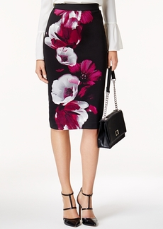 Alfani Printed Midi Pencil Skirt, Created for Macy's