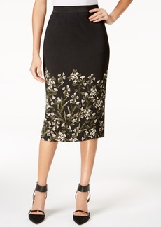 Alfani Printed Midi Skirt, Created for Macy's