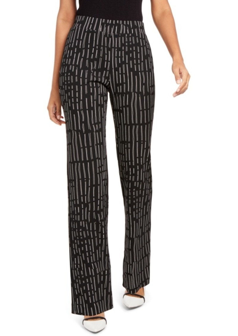 Alfani Printed Pull-On Pants, Created for Macy's