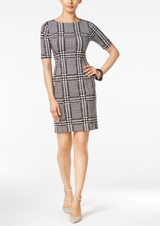 Alfani Printed Sheath Dress, Only at Macy's